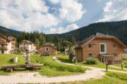 Vrijstaande vakantiehuizen op een park in Oostenrijk