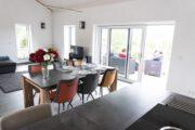Eettafel in het vakantiehuis in Duitsland
