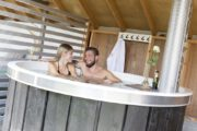 Samen in de hot tub tijdens je weekendje weg