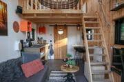 Compact ingericht vakantiehuis