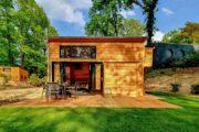 Extra groot tiny house bij natuurgebied Maasduinen, voor een onbezorgde vakantie