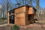 Een ruim tiny house voor een weekendje weg bij de Maasduinen