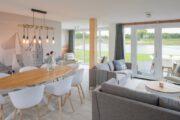 Woon- / zitkamer met licht interieur