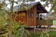 Houten cottage voor een weekendje weg of vakantie