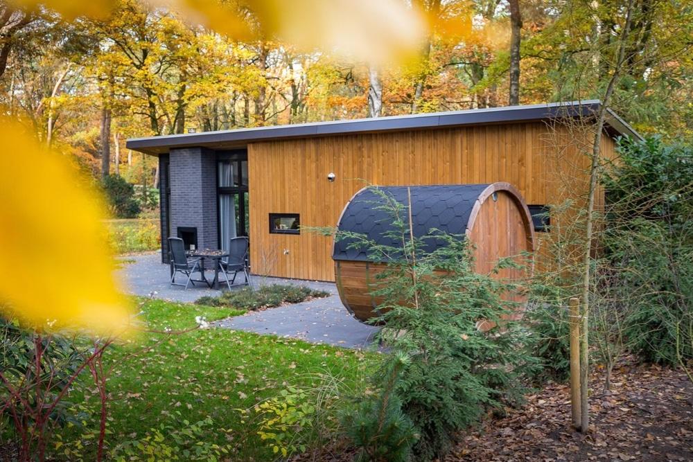 Vakantiehuis met sauna in de tuin
