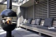 Buitenhaard bij het vakantiehuis in Schoorl