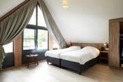 Ruime slaapkamer in het vakantiehuis