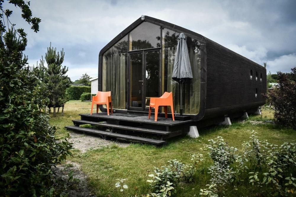 Wikkelhouse op een vakantiepark in Ouddorp