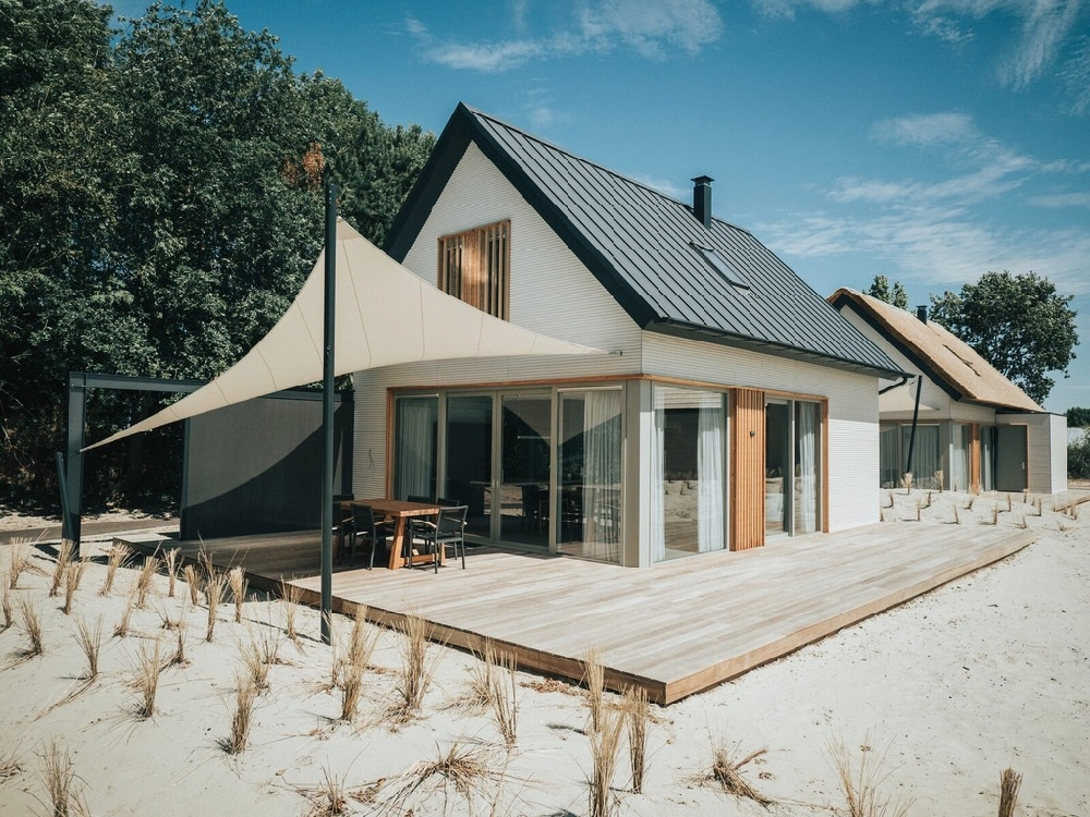 Luxe vakantiehuizen aan zee bij Ouddorp