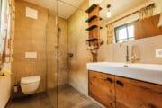Badkamer in vakantiehuis in Oostenrijkse Piesendorf