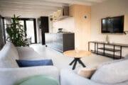Modern vakantiehuis aan zee