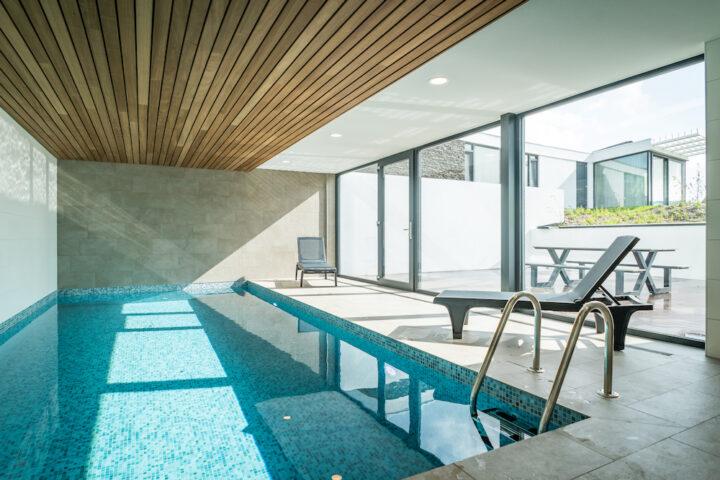 Luxe vakantiehuis op Texel met indoor zwembad