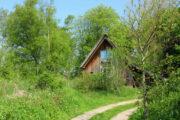 Cottage in het bos in Bergen, op 10 minuten van zee