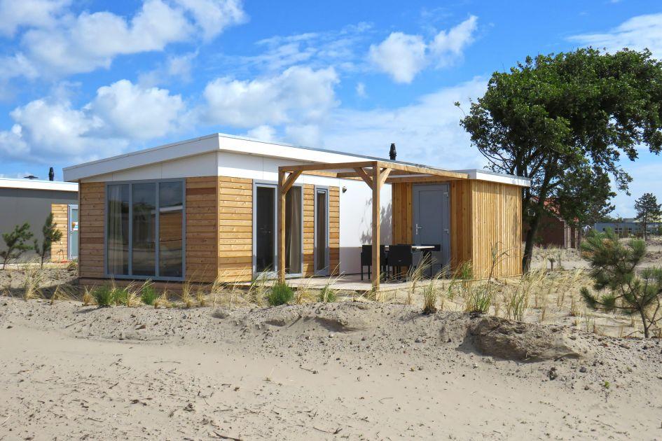 Strandchalet Boomhiemke, vlakbij het strand op Ameland