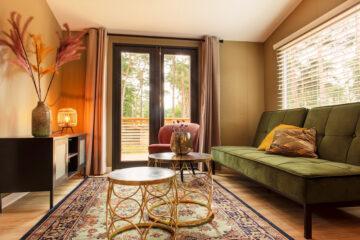 Verblijf met hip interieur bij Tiny House in Oisterwijk