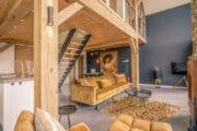 Stijlvolle woonkamer in de vakantievilla op Texel
