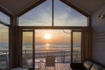 Bijzondere vakantiehuizen op het zand bij Strandhuisjes Julianadorp