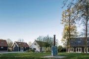 Midden op het kleinschalige vakantie-erf in Biggekerke vind je een vuurplaats