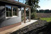 Boshuisje in de Achterhoek met overdekt terras
