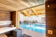 Verblijf met wellness en spa bij Oasis Abondance in Portes du Soleil