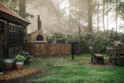 Verblijf met tuin bij natuurhuisje in Appelscha