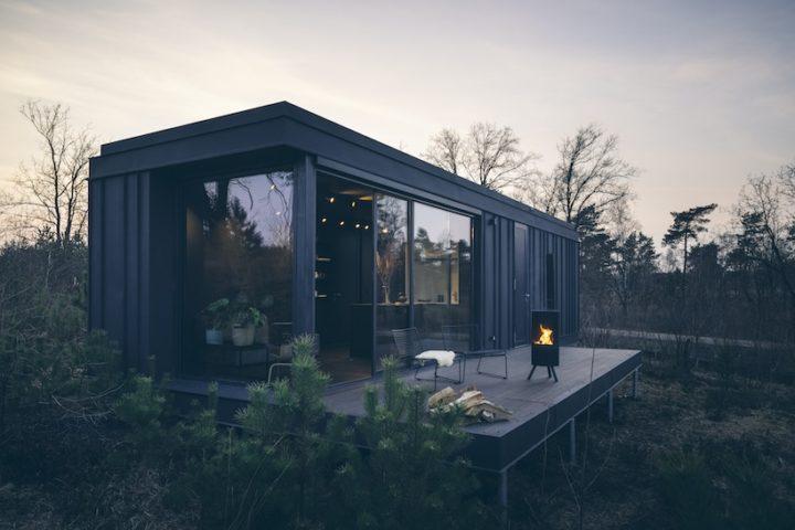 Overnachten in Outdoor Suites bij Cuber op de Veluwe