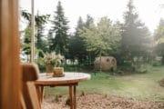 Weekendje weg in natuurhuisje met gezellige tuin in Drantum