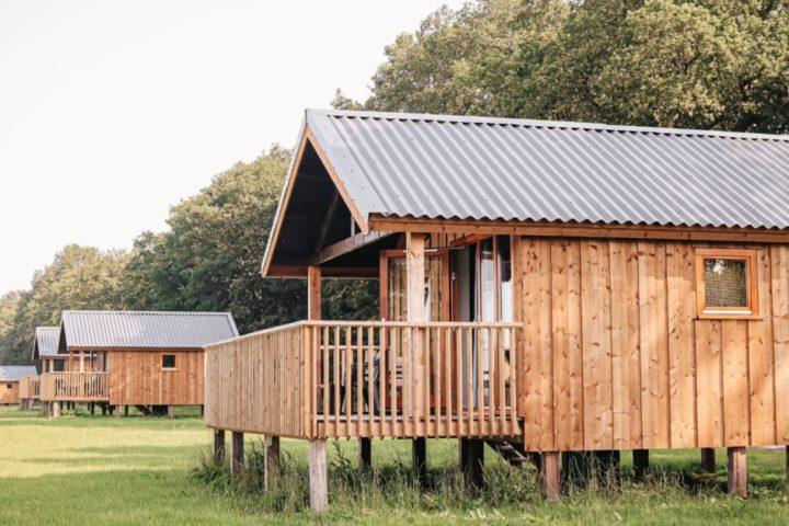 Weekendje weg in houten Acker lodges in Ruinerwold